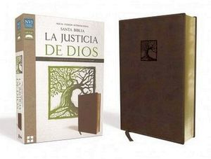 SANTA BIBLIA -LA JUSTICIA DE DIOS/MARRON- (NVI)