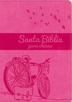 SANTA BIBLIA PARA CHICAS             (NVI/ROSADO CLARO)