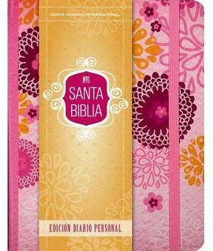 SANTA BIBLIA -DIARIO PERSONAL/ROSA- (NVI)