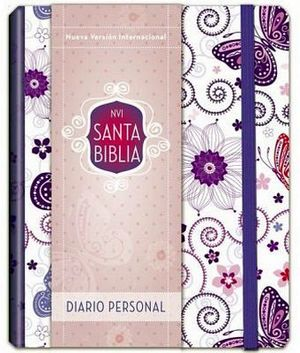 SANTA BIBLIA -DIARIO PERSONAL/MORADO- (NVI)