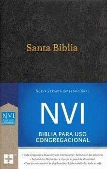 SANTA BIBLIA -BIBLIA PARA USO CONGREGACIONAL- (NVI/NEGRA/EMP)