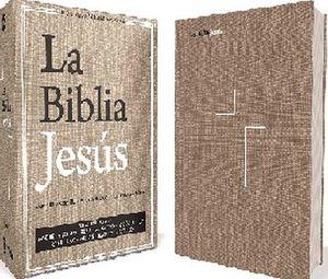 BIBLIA JESUS, LA                     (NVI/GRIS/TELA)