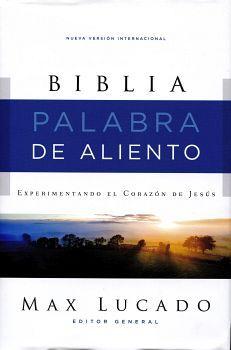 BIBLIA PALABRA DE ALIENTO -NVI-           (EMPASTADO/GRIS)