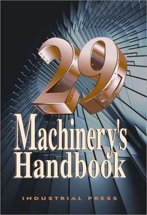 MACHINERY'S HANDBOOK TOOLBOX 29TH