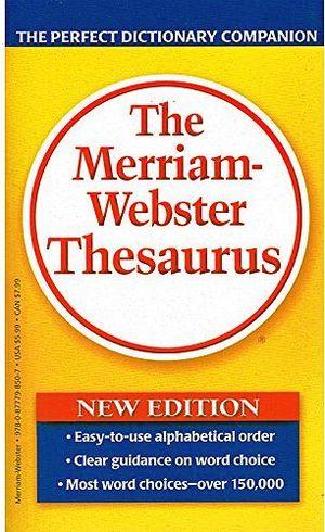 MERRIAM WEBSTER`S THESAURUS