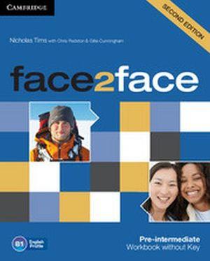 FACE2FACE 2ED PRE-INTER WORKBOOK