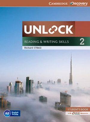 UNLOCK READING & WRITING SKILLS 2 BOOK W/ONLINE WORKBOOK