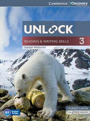 UNLOCK READING & WRITING SKILLS 3 BOOK W/ONLINE WORKBOOK