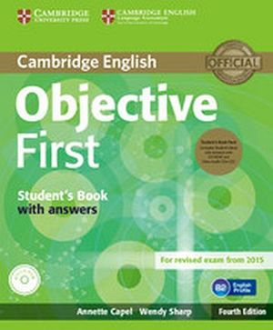 OBJECTIVE FCE 4ED BOOK W/CD-ROM AND KEY