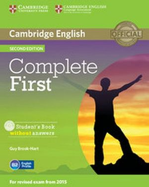 COMPLETE FIRST 2ED BOOK W/CD-ROM