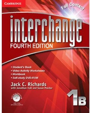 INTERCHANGE 4ED FULL CONTACT 1B W/SELF-STUDY DVD-ROM