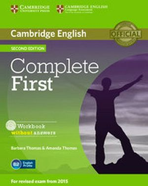 COMPLETE FIRST 2ED WORKBOOK W/AUDIO CD