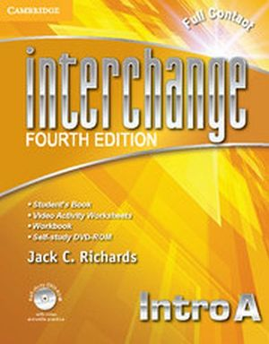 INTERCHANGE 4ED FULL CONTACT INTRO A W/SELF-STUDY DVD-ROM