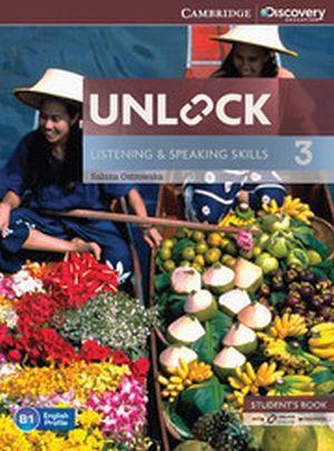 UNLOCK LISTENING & SPEAKING 3 STUDENT BOOK W/ONLINE WK