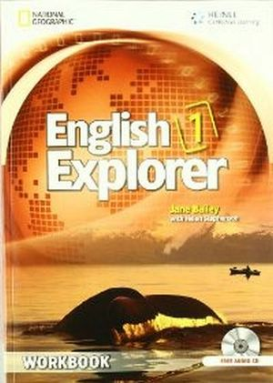ENGLISH EXPLORER 1 WORKBOOK W/AUDIO CD