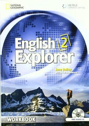 ENGLISH EXPLORER 2 WORKBOOK W/AUDIO CD