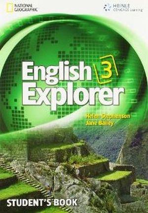 ENGLISH EXPLORER 3 STUDENT'S BOOK + MULTIROM