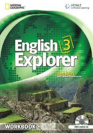 ENGLISH EXPLORER 3 WORKBOOK W/AUDIO CD