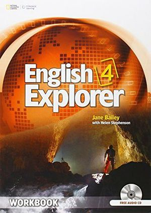 ENGLISH EXPLORER 4 WORKBOOK W/CD