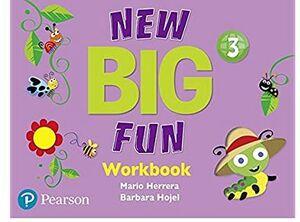 NEW BIG FUN 3 WORKBOOK WITH AUDIO CD
