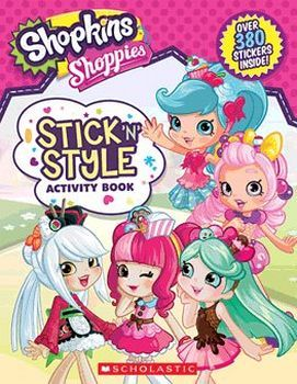 STICK'N STYLE ACTIVITY BOOK