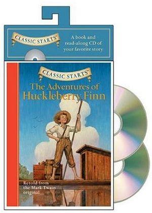 THE ADVENTURES OF HUCKLEBERRY FINN W/CD