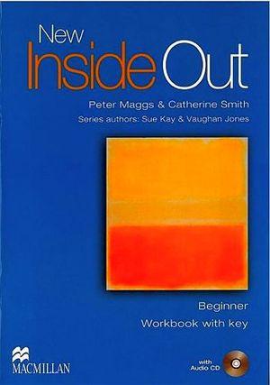 NEW INSIDE OUT BEGINNER WORKBOOK W/CD