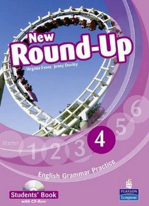 NEW ROUND-UP 4 GRAMMAR PRACTICE ST'S BOOK W/CD-ROM