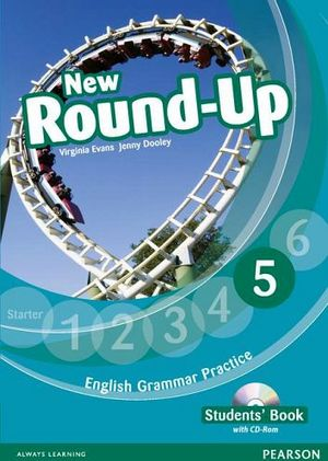 NEW ROUND-UP 5 GRAMMAR PRACTICE ST'S BOOK W/CD-ROM