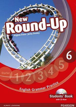 NEW ROUND-UP 6 GRAMMAR PRACTICE ST'S BOOK W/CD-ROM
