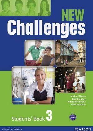 NEW CHALLENGES 3 STUDENT'S BOOK W/ACTIVEBOOK