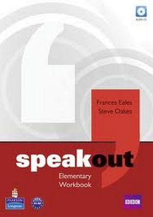 SPEAKOUT ELEMENTARY WORKBOOK W/AUDIO CD