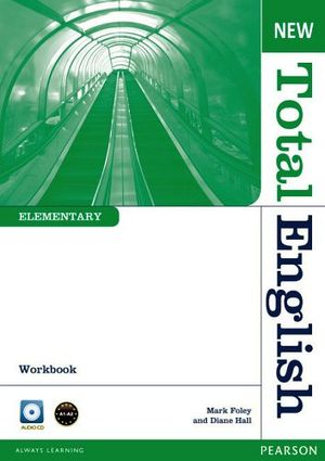 NEW TOTAL ENGLISH ELEMENTARY 2ED WORKBOOK W/AUDIO CD