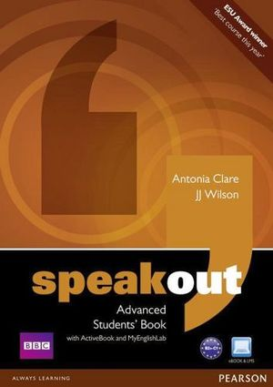 SPEAKOUT ADVANCED BOOK W/ACTIVE BOOK & MYENGLISHLAB