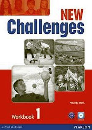 NEW CHALLENGES 1 WORKBOOK W/AUDIO CD 2ED.