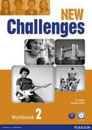 NEW CHALLENGES 2 WORKBOOK W/AUDIO CD 2ED.