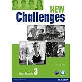 NEW CHALLENGES 3 WORKBOOK W/AUDIO CD 2ED.