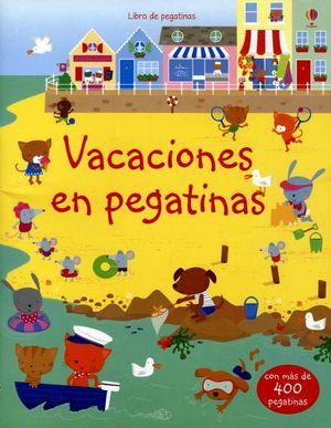 LIBRO DE PEGATINAS -VACACIONES-