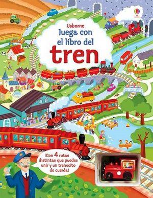 JUEGA CON EL LIBRO DEL... TREN             (C/JUGUETE)