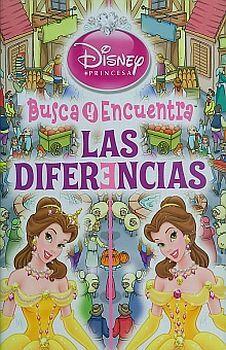 DISNEY PRINCESA  -BUSCA Y ENCUENTRA LAS DIFERENCIAS-