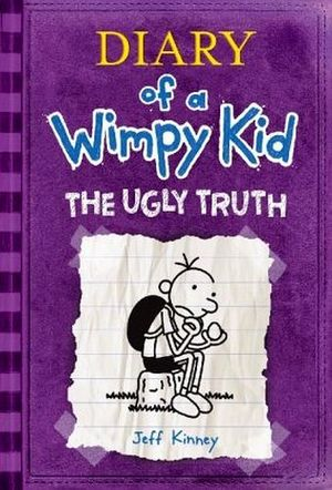 DIARY OF A WIMPY KID #5 UGLY TRUTH IE