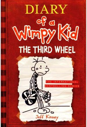 DIARY OF A WIMPY KID #7 THE THIRD WHEEL IE