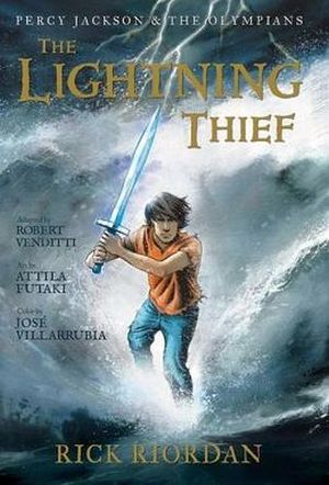 PERCY JACKSON & THE OLIMPIANS 1 -LIGHTING THIEF
