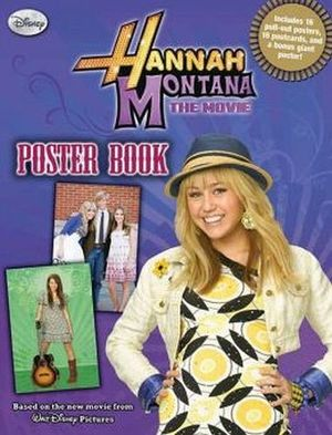 HANNAH MONTANA MOVIE POSTER BOOK