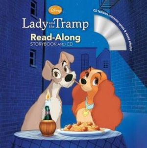 LADY AND THE TRAMP STORYBOOK AND CD