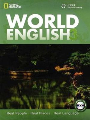 WORLD ENGLISH 3 STUDENT'S BOOK C/CD