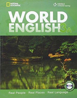 WORLD ENGLISH 3A STUDENT BOOK W/CD-ROM