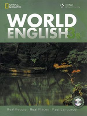 WORLD ENGLISH 3B STUDENT BOOK W/CD-ROM