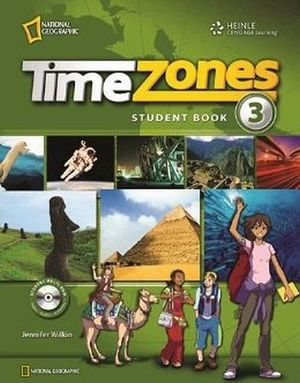 TIME ZONES 3 STUDENT'S BOOK W/MULTI-ROM