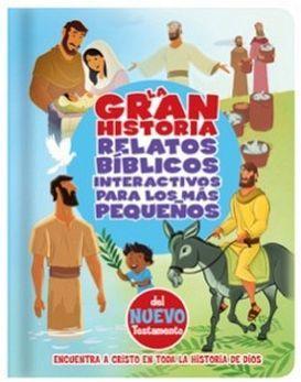 GRAN HISTORIA -RELATOS BIB.INT.P/LOS MAS PEQUEÑOS/NUEVO TESTAMENT